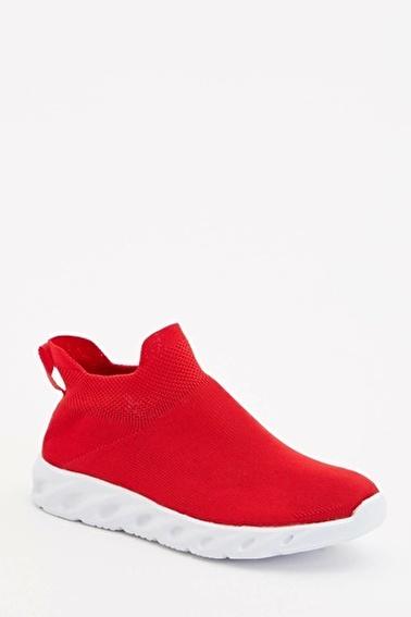 DeFacto Çorap Model Spor Ayakkabı Kırmızı